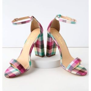 Lulus plaid heels